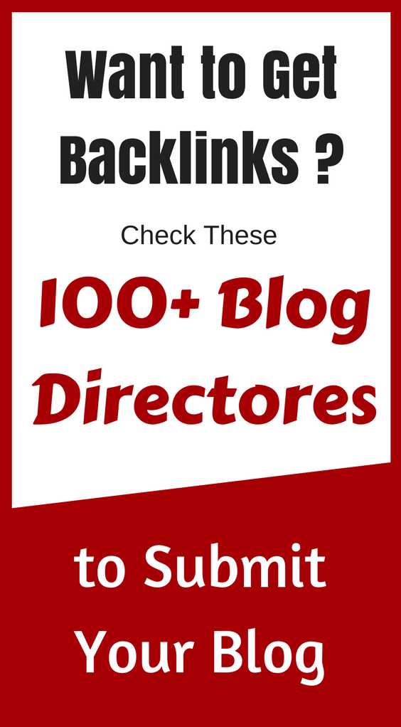 blog directories to submit your blog posts