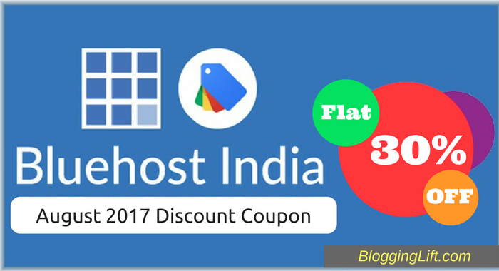 bluehost india discount coupon august 2017