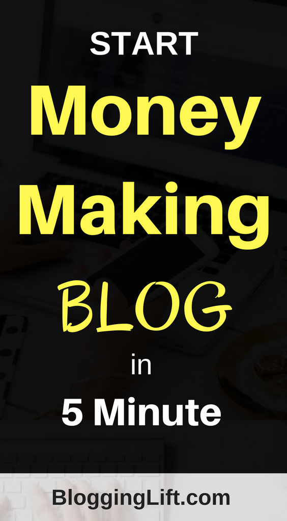 start money making blog