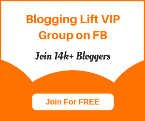 blogging lift com facebook group