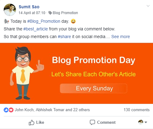 blog promotion thread