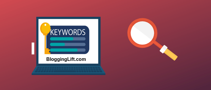 keyword research for writing blog post