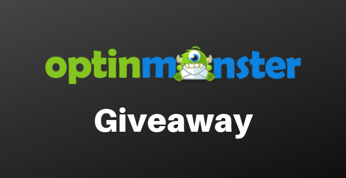 optinmonster giveaway contest