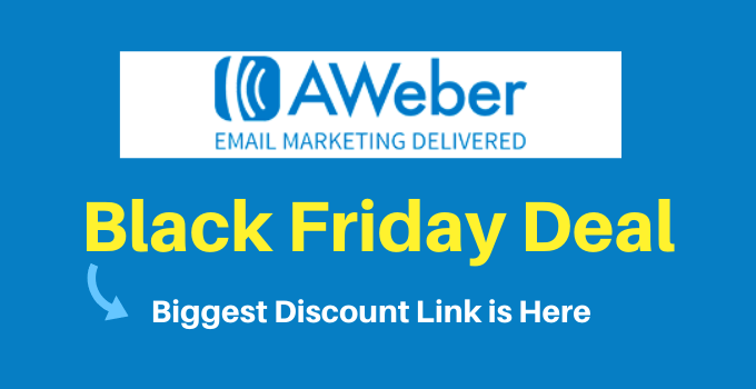 aweber black friday deal