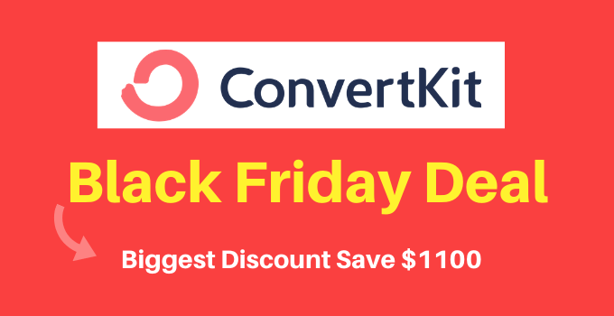 convertkit black friday deal