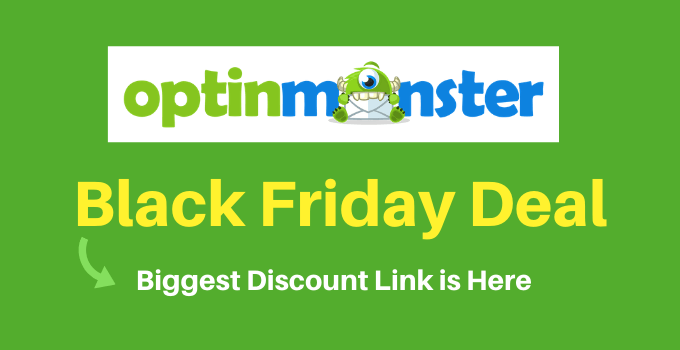 optinmonster black friday deal