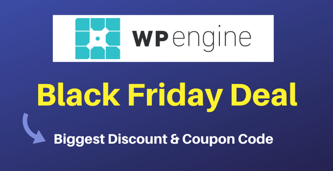 wpengine black friday deal cyber monday discount