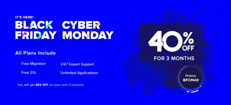 cloudways black friday cyber monday deal
