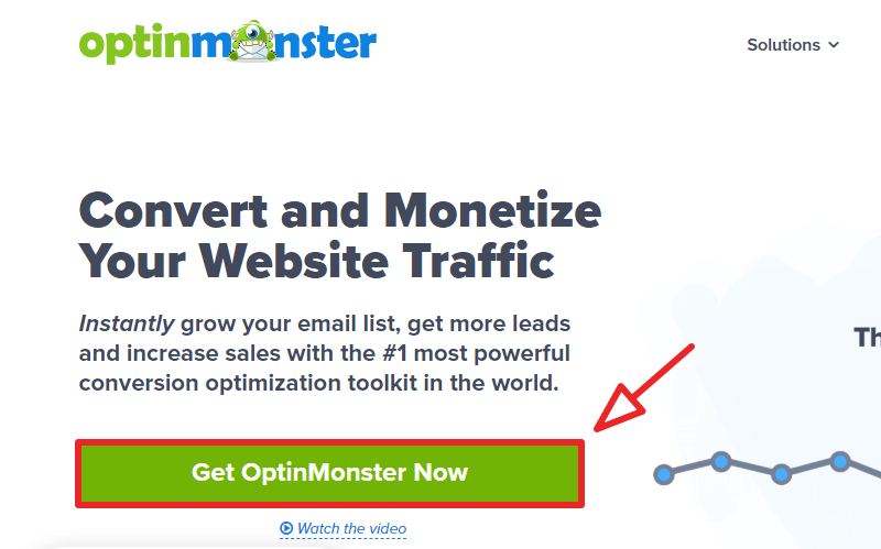 optinmonster homepage