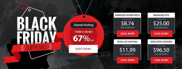 a2 hosting black friday sale