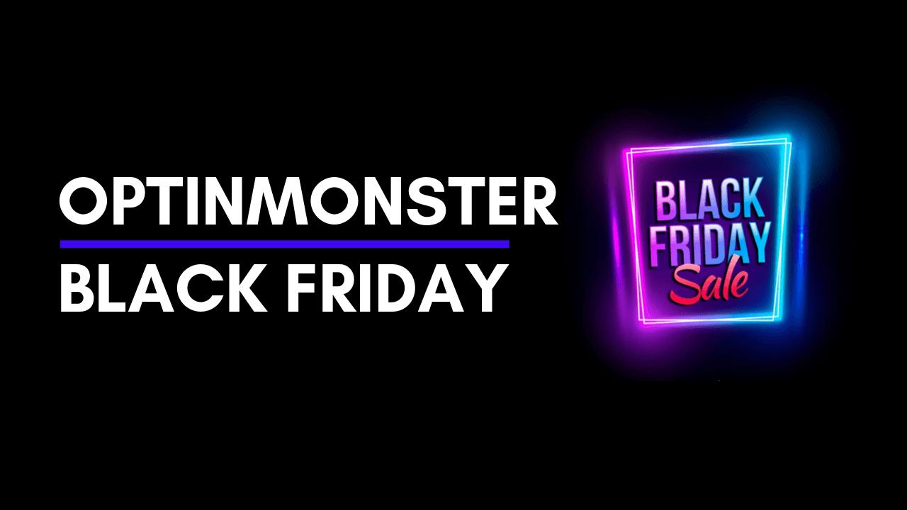 optinmonster black friday sale