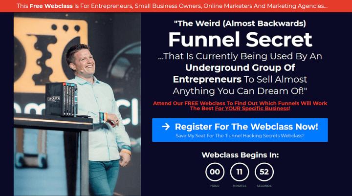 free funnel hacking secrets webinar