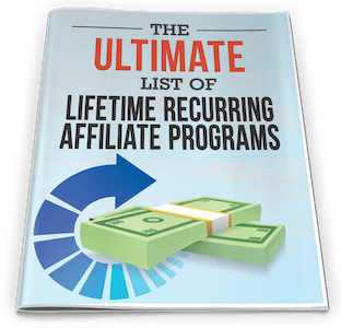 one funnel away challenge bonus Ultimate List of Lifetime Recurring Affiliate Programs