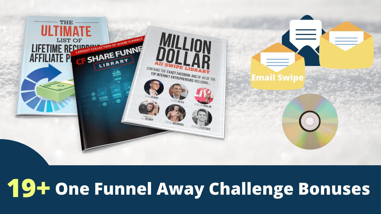 one funnel away challenge bonuses