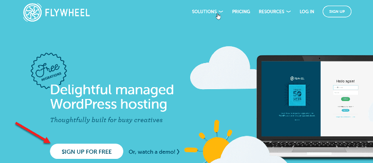 flywheel web hosting free trial without credit card