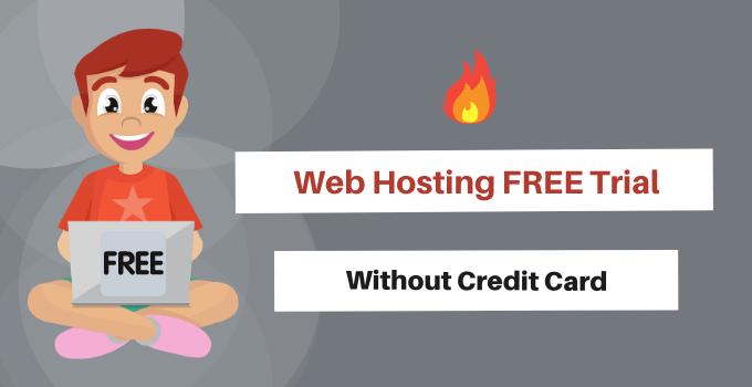 web hosting free trial no credit card