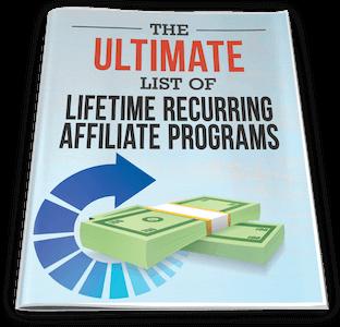 traffic secrets bonus ultimate list of lifetime recurring affiliate program