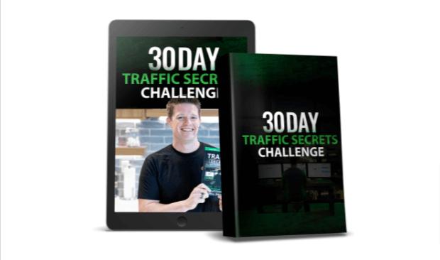 clickfunnels traffic secrets book bonus 30 days challenge
