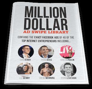 traffic secrets book bonus million dollar ads swipe library