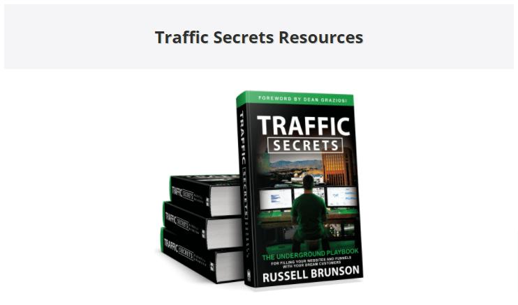 traffic secrets book bonuses resource