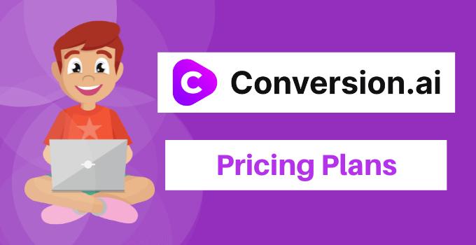 conversion.ai pricing plans