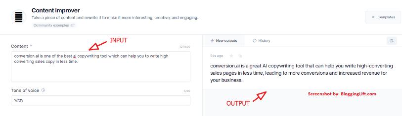 content improver conversion.ai jarvis