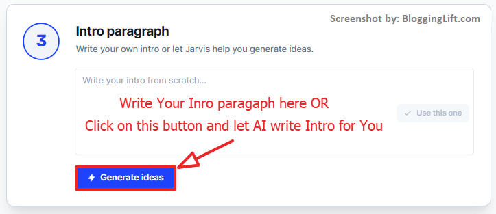 jarvis.ai long form assistant inro paragraph