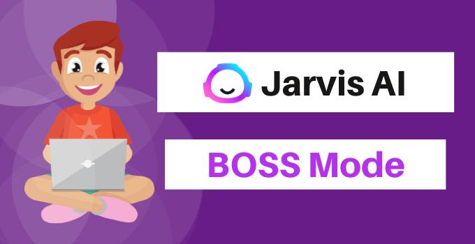 jarvis.ai boss mode plan conversion ai boss mode