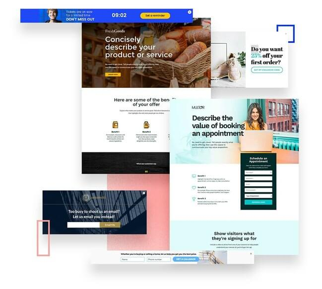 unbounce templates library