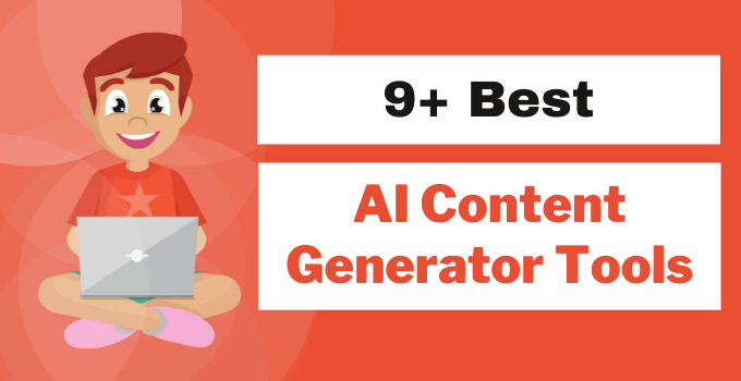 best ai content generator softwares and article writing tools