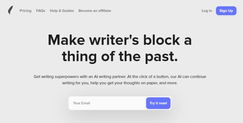 shortlyai ai article writer