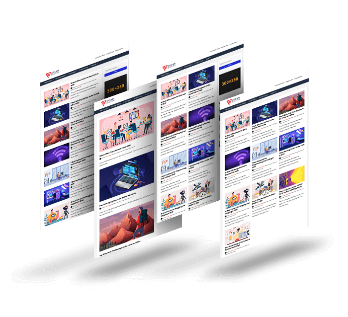 affiliate booster theme homepage design layouts