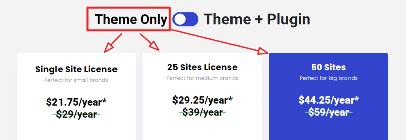 affiliate booster theme pricing