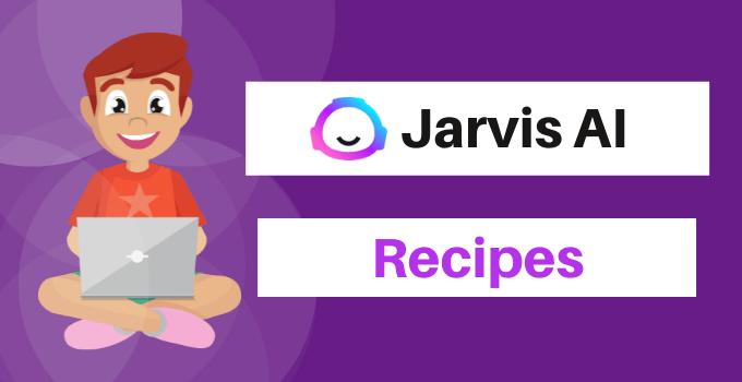 jarvis ai recipes review tutorial
