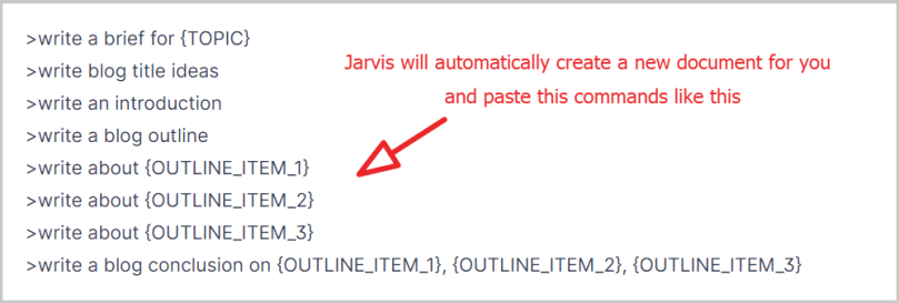 step 6 jarvis recipes commands will be paste in document so replace variables and run each commands